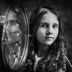 *** (Elena Yaschenko) Tags: people portrait bw blackwhite girl child children childhood bwphoto monochrome