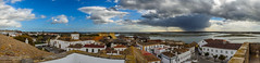 Panorama to the Ria Formosa (_Rjc9666_) Tags: algarve arquitectura catedraldasé faro nikond5100 panorama portugal roof sky street tamron2470f28 urbanphotography ©ruijorge9666 pt riaformosa water seascape sea coastline lagoon clouds weather