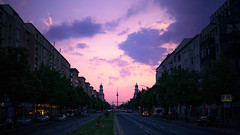 Berlin (kadircelep) Tags: berlin sunset sky skyscape