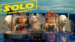 SOLO: A LEGO Star WARS Story Short (Brickfilm) (AJV Films) Tags: starwars solo han dogs lego moc set brickfilm animation stop motion short qira landspeeder