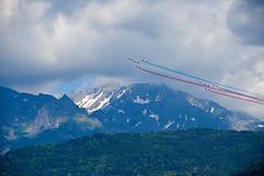 Patrouille de France (prakharamba) Tags: patrouille de france patrouilledefrance show aerien versoud grenoble nikon d750 aeroplane jet belledonne