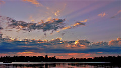 Big Sky (Bob's Digital Eye) Tags: bobsdigitaleye canon clouds efs24mmf28stm flicker flickr july2018 laquintaessenza lake lakesunsets lakescape reflections sky skyscape sun sunset sunsetsoverwater t3i water silhouettes