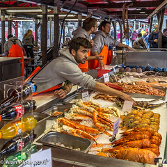 Bergen Fishmarket (PapaPiper) Tags: bergen norway fishmarket streetfood