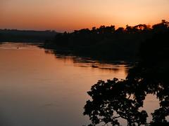 Uganda - Jinja (Shabba Al) Tags: sunset jinja africa uganda nilerivercamp nile river