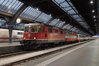 SBB Re 8/8 Zurich HB