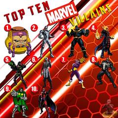 Top Ten Marvel Villains (AntMan3001) Tags: top ten marvel villains