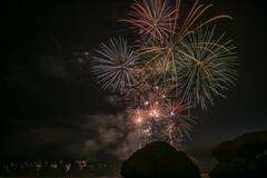 Trégastel - Feu d'artifice du 14 juillet...Fireworks July 14.2018 (De l'autre côté du mirOir...) Tags: trégastel fireworks feudartificedu14juillet bretagne breizh bzh brittany nikon nikkor d810 nikond810 fr france french nuit mer 240700mmf28