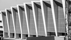 luchthaven zaventem (bilderkombinat berlin) Tags: ⨀2018 brussel belgium eu airport aeropuerto aéroport blackwhite terminal building architecture flughafen belgië luchthaven zaventem europa capital city europe bruxelles bru