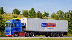 XX12637 (17.07.06, Motorvej 501, Viby J)DSC_4330_Balancer (Lav Ulv) Tags: 234646 volvo volvofh fh4 e6 euro6 blue maimburg olavmaimburg olavmaimburgservicecenter container ponedlloyd 6x2 2016 fh460 truck truckphoto truckspotter traffic trafik verkehr cabover street road strasse vej commercialvehicles erhvervskøretøjer danmark denmark dänemark danishhauliers danskefirmaer danskevognmænd vehicle køretøj aarhus lkw lastbil lastvogn camion vehicule coe danemark danimarca lorry autocarra trækker hauler zugmaschine tractorunit tractor artic articulated semi sattelzug auflieger trailer sattelschlepper motorway autobahn motorvej vibyj highway hiway autostrada