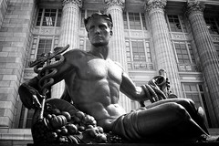 Jefferson City Missouri - Missouri State Capitol Grounds Statehood Statue - Monochrome (Onasill ~ Bill Badzo - 56 Million Views - Thank Yo) Tags: state capitol co rotunda dome interior onasill civic historic district nrhp architecture architect e myers building government us places roof indoor ceiling atrium geometric jefferson city mo missouri historical register focus flicker explore gallery senate house representative entrances attraction walking tour travel gothic photo border statue sky clouds outdoor cloud grounds statehood monochrome downtown