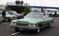 1973 Cadillac Sedan de Ville 7.7 V8 (1974) (rvandermaar) Tags: 1974 cadillac sedan de ville 77 v8 sedandeville cadillacdeville cadillacsedandeville deville caddy sidecode3 import 31yd80