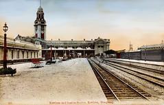 1920s KCR Train station (Eternal1966) Tags: old hong kong