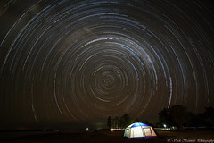 SCP StarTrail at Lake Coolmunda, Queensland (myshutterworld) Tags: star trail scp nightscape astrophotography lake coolmunda darling downs queensland australia milky way galaxy magellanic clouds