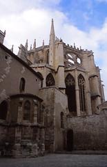 Cathédrale Saint-Just et Saint-Pasteur, Narbonne (demeeschter) Tags: france languedoc narbonne roman town medieval heritage building historical church cathedral river bridge ruin museum