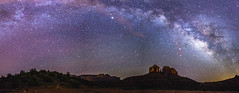 20170430-FS-Coconino-DLS-003 (Forest Service Photography) Tags: arizona cathedralrock coconinonationalforest forestservice milkyway pentaxk1 redrockrangerdistrict sedona usfs desert forest night nightsky outdoors panorama redrocks unitedstates us landscape landscapes stars astrophotography
