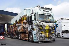 """Scania S NextGen """" HEIDE-LOGISTIK """" """" THE LEGEND """" (D) (magicv8m) Tags: scania s nextgen heidelogistik thelegend d tir trans transport lkw truck show geiselwind"""