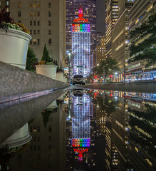 Helmsley Building in rainbow colors for Pride Week, Manhattan, New York City (NYC♥NYC) Tags: