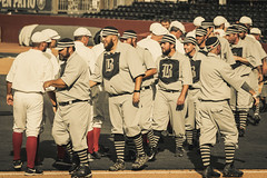 Bluegrass Barons (bdbaum17) Tags: vintage base ball baseball 1869 no gloves lexington ky kentucky throwback bat bats balls field dreams stadium legends ballpark cincinnati red stockings
