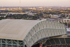 Minute Maid Park Retractable Roof (Mabry Campbell) Tags: 2018 hariscounty houston houstonastros houstonstock march minutemaidpark texas architecture astros baseball building downtown image landmark photo roof sports stadium stockimage f22 mabrycampbell june 2012 june172012 201206171423 85mm ¹⁄₈₀₀sec 100 ef85mmf18usm