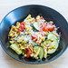 Golden brown roasted spaetzle with dried tomatoes and zucchini by Hellofresh