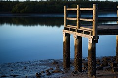 sun on the jetty (noompty) Tags: jetty nudgeebeach brisbane queensland water pentax k1 carlzeiss zk zeiss planart1485 on1pics photoraw2018