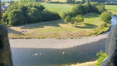 River Derwent swimming