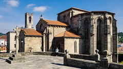 Iglesia de San Francisco (Betanzos, Spain) (Yuri Dedulin) Tags: architecture culture eu europe history oldcity spain travel yuridedulin betanzos galicia attraction sights landmarks tourism iglesiadesanfrancisco churches granitechurches dark quiet cultural heritage monuments gothic medieval knights impressive sarcophagus 2018