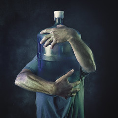 Water (mckenziemedia) Tags: water thirdworld square bottle waterbottle blue hands arms vignette selfie selfportrait humanitarian iphone shotoniphone iphoneography