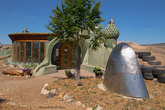 Earthship Taos (Lindell Dillon) Tags: earthship taos newmexico architecture