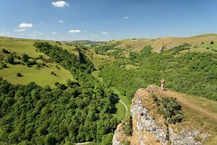The Great Escape (Andrew Mowbray) Tags: staffordshire peakdistrictnationalpark peakdistrict wettonmill thorscave walkinginstaffordshire