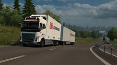 Volvo FH16 in Sweden! (Fab5001) Tags: volvo fh16 volvofh 550 ekeri db schenker eurotrucksimulator2 ets2