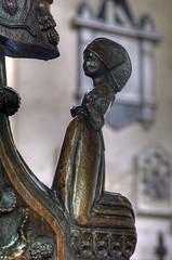 Bench end, Church of the Assumption of the Blessed Virgin, Ufford, Suffolk (robh London) Tags: poppyhead finial woodbridge deben delapole c15 15thcentury