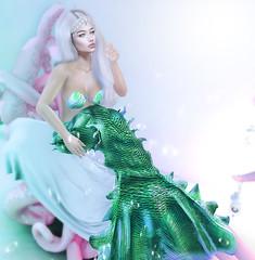 🌊 (Danielle Livadi) Tags: fantasy summer mermaid uber lybra