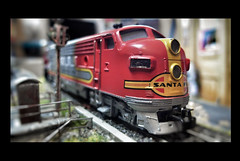 Hobbyausflug nach Santa Fe (heute?) Tags: modelleisenbahn fotografie modellbau phantasie retro stillleben lokomotive hobby diorama
