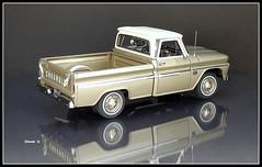 1966 Chevrolet Series C-10 Half-ton Pickup Truck (JCarnutz) Tags: 124scale diecast danburymint 1966 chevrolet c10 pickuptruck