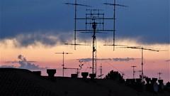 Antena radioaficionado. (Eduardo OrtÍn) Tags: antena radioaficionado tarazona aragón contraluz