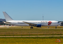The Rolling Stones Boeing 767-35D-ER  ZS-NEX (jandia68) Tags: boeing airport airline airplane airliners airlines airplanes aircraft airliner aircrafts airports rolling stones plane planespotter planes stuttgart str spotting spotter