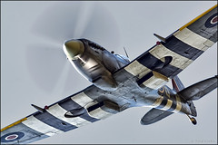 Supermarine Spitfire Mk.XVIe TE184 (Pavel Vanka) Tags: supermarine spitfire mkxvie te184 lkpd pardubice airshow czechrepublic aviationfair plane airplane spotting aircraft fly spot flying warbird ww2