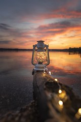 Into the light (Melanie Martinu) Tags: beautiful enjoy moment sigma sigmaart canon upperpalatinate germany bavaria outdoor reflection water lamp colors sky colorful landscape nature clouds lake sunset light