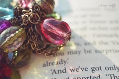 Jewelry (Arisu Saktos) Tags: jewelry jewellery book macro close up color light shadow old nikon d5200