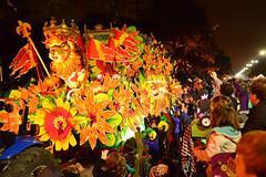 Orpheus Float #14 - Where King Leonidas Rules (BKHagar *Kim*) Tags: bkhagar mardigras neworleans nola la parade celebration people crowd beads outdoor street napoleon uptown night outside orpheus kreweoforpheus float