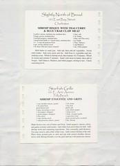 scan0116 (Eudaemonius) Tags: sb0631 a taste of charleston south carolina restaurant recipes 2004 raw 20180701 eudaemonius bluemarblebounty southern cooking cookbook recipe
