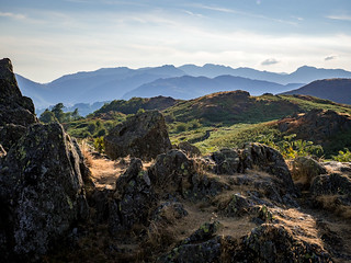 Up on Loughrigg Fell, Lake District