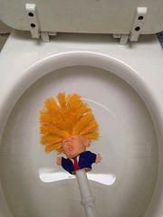 Useful Trump (nic0v0dka) Tags: fraud mistake american america americ usa président humor humour donald chiotte wc shit useful trump