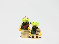 Sukhoi SU-34 Pilots (ModernBrix) Tags: sukhoi su34 su 34 attack fighter jet vehicle military lego russia russian medium range bomber fighterbomber air force modernbrix bricks moc