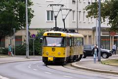 Tatra T4D-MT 224 217, Dresden (rengawfalo) Tags: tram tramway dresden tatra t4d sachsen saxony strasenbahn train railroad bahn dvbag tranvia tramvaj ckd elektricka öpnv publictransport urban rail tramwaj sporvogn car road urbanrail