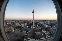 Alexanderplatz Berlin (Håkan Dahlström) Tags: 2018 alexanderplatz architecture berlin city fernsehturm germany photography tower tv view xt1 f10 160sek 8mm cropped 804072018212319 mitte de