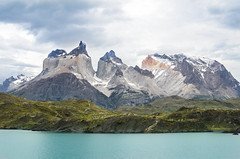 Torres del Paine (Eric Dewar Photography) Tags: chile southern south america torres del paine mountain lake blue beauty crisp peak rock surface hike 2 w incredible travel traveller vacation chilean penguin penguins view hotel vacay ocean boat travelling visit united states wow province