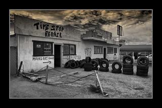 Primitive Tire Shop