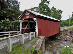 Packsaddle / Doc Miller Covered Bridge (George Neat) Tags: fairhope covered bridge county somerset old historical scenic landscapes georgeneat neatroadtrips patriotportraits pa pennsylvania